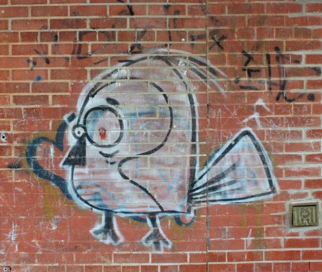 Toronto - EBW birdie graffiti