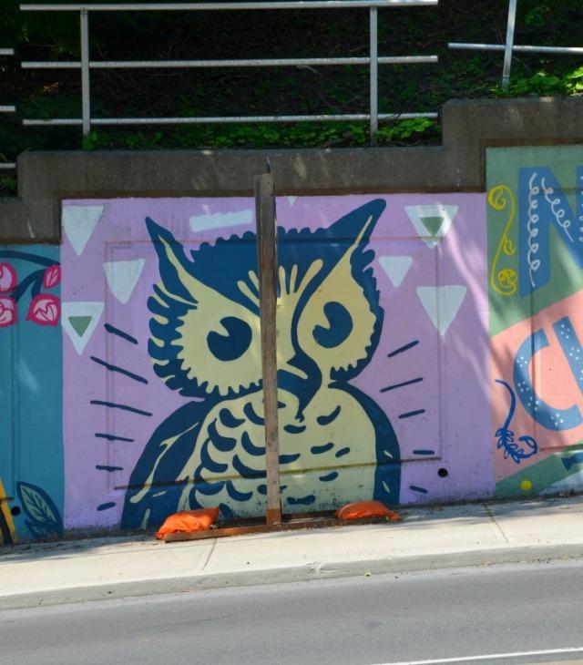 Toronto - Bathurst St owl
