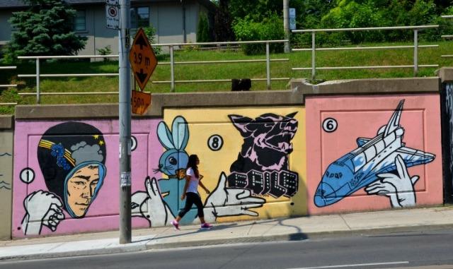 Toronto - Bathurst St mural space