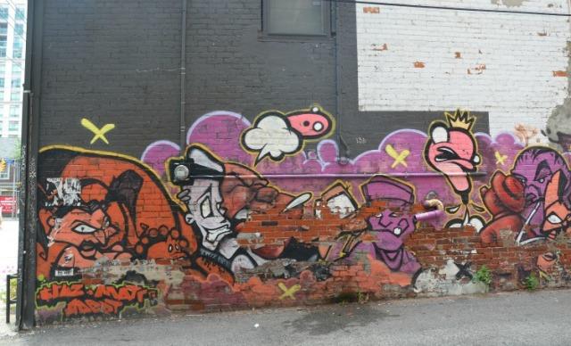 Toronto - graffiti red part one