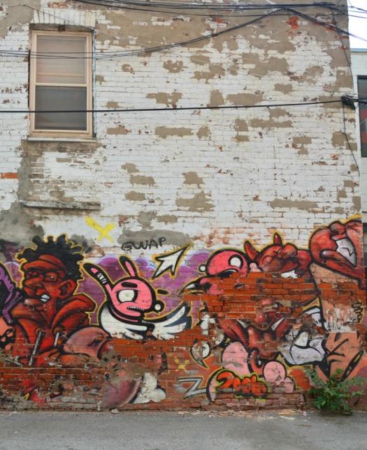 Toronto - graffiti red part two