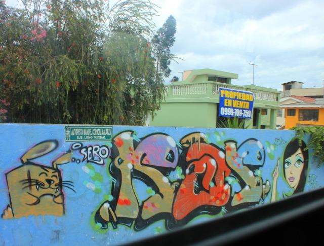 Quito - sero graffiti