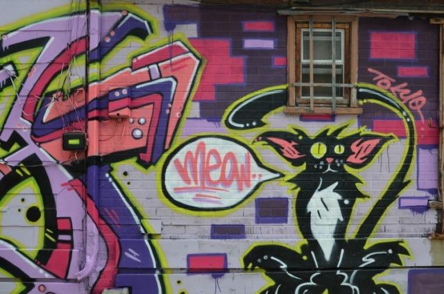Toronto - meow graffiti