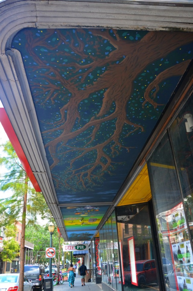 Mobile - tree mural