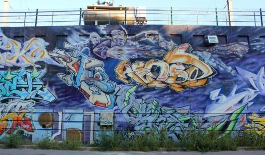 Marseille - wizardry graffiti