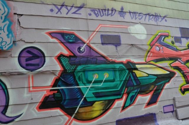 Toronto - xyz graffiti