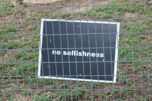 Texas - San Antonio no selfishness