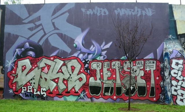 Lisbon - jetset graffiti