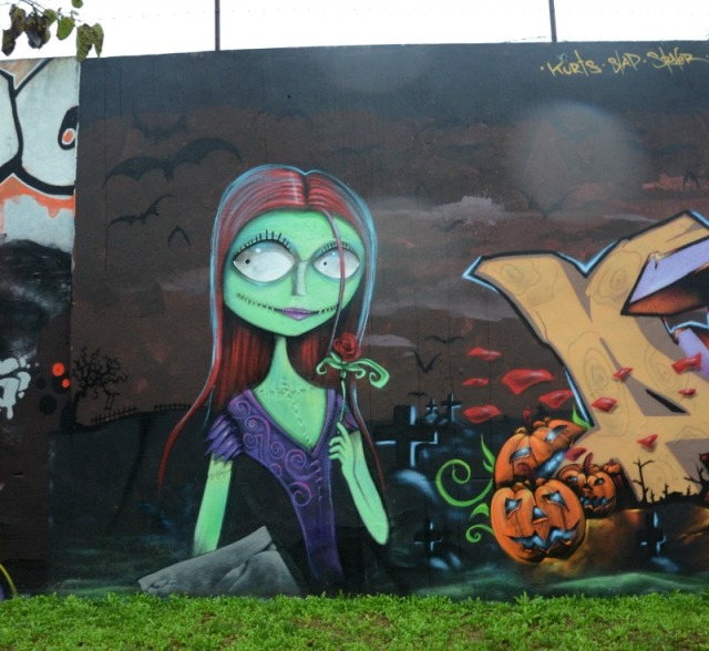 Portugal - graff for tim burton
