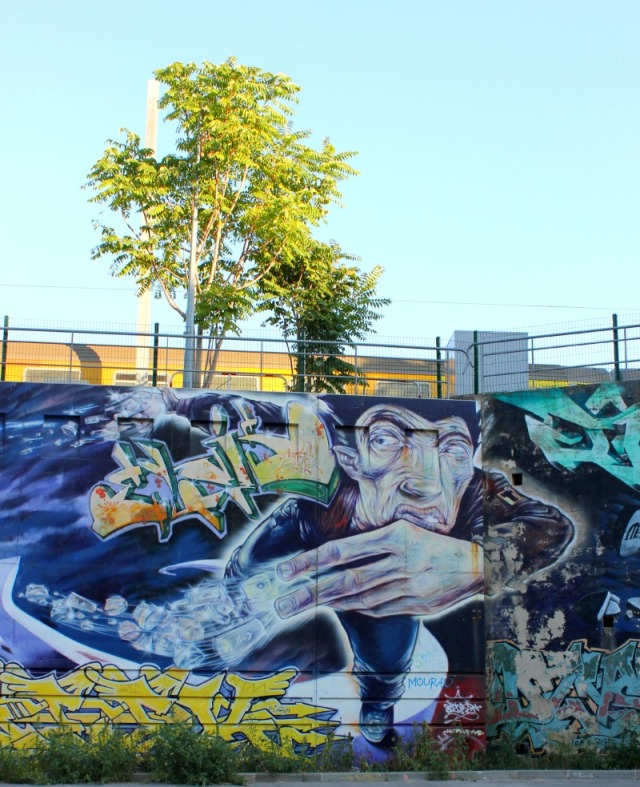 France - Marseille graffiti power