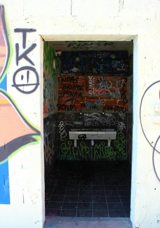 France - Marseille graffiti tko