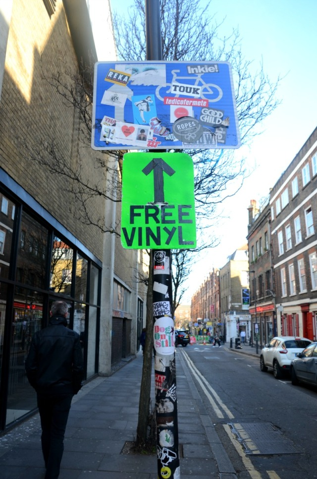 London - free vinyl