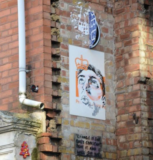 London - Brick Lane paste up