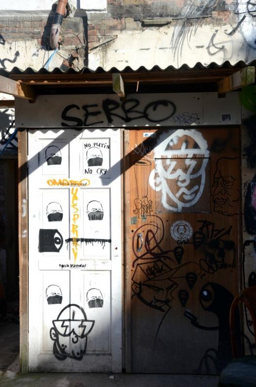 London - serbo graffiti