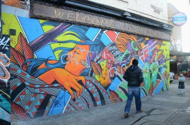 London - welcome to kinkao graffiti