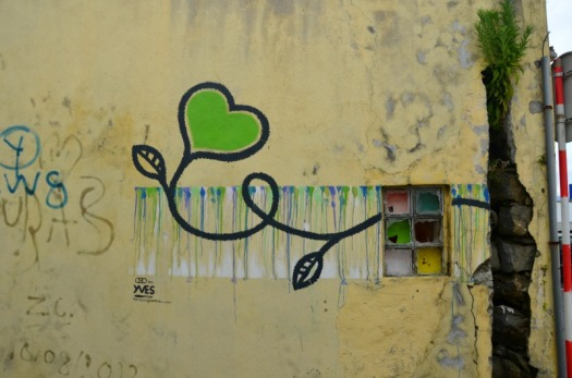Azores - love from yves