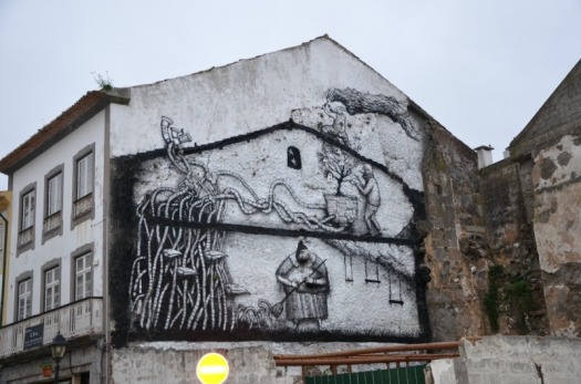 Portugal - Azores mural
