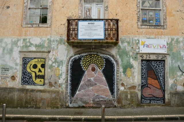 Azores - PD graffiti trio