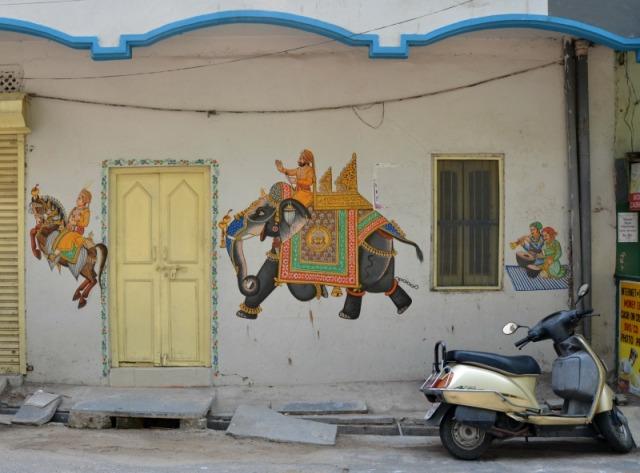 Udaipur street art