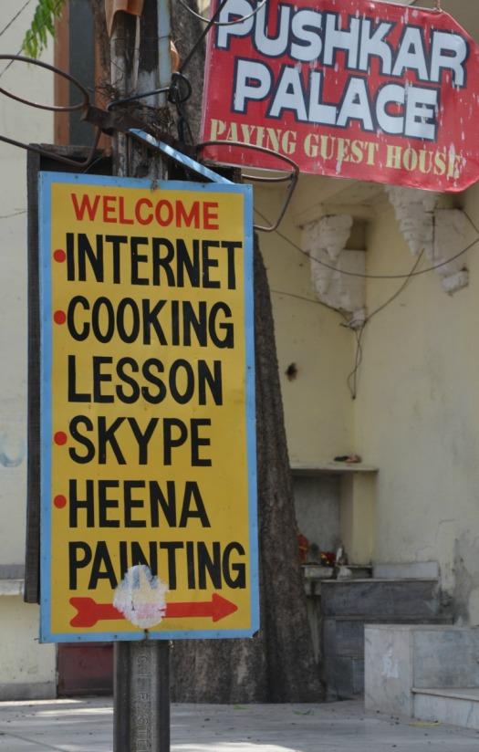 Udaipur - internet sign