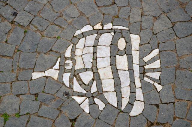 Azores - fish mosaic