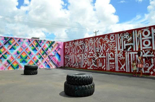 Miami - Wynwood Hayuk and Retna