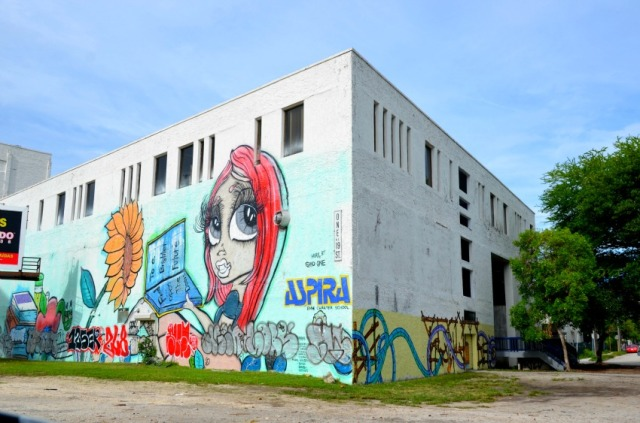 Miami - aspira eyes graffiti