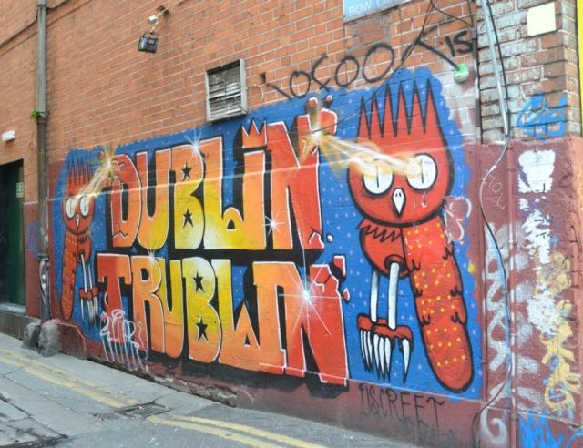 dublin trublin' graffiti