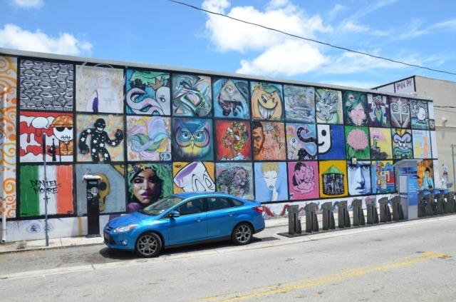 Miami - charity street art