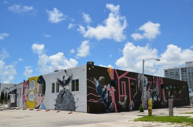 Miami - Wynwood graffiti trio