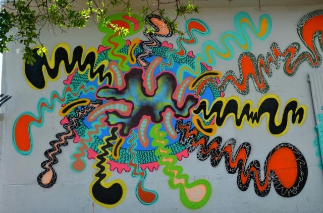 Miami - graffiti abstract