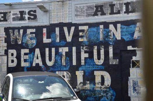Miami - graffiti beautiful world