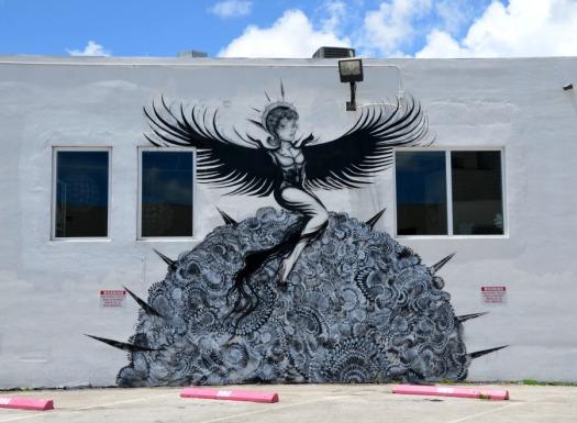 Miami - graff creature