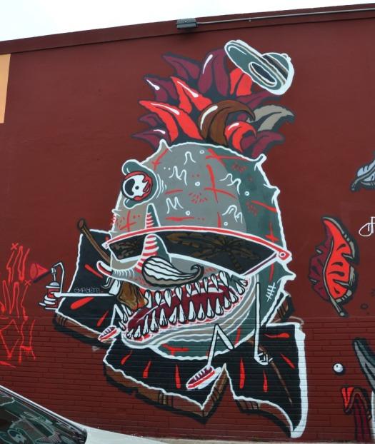 Miami - graff creatureW