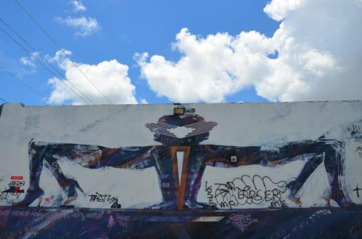 Miami - four legs graffiti