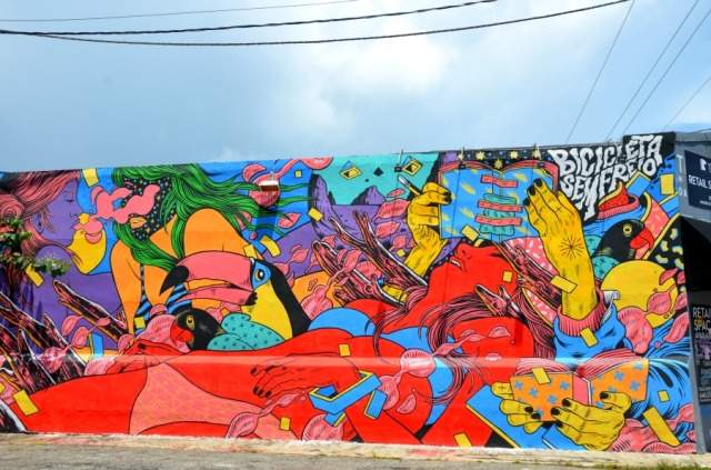 Miami - Wynwood graff jungle