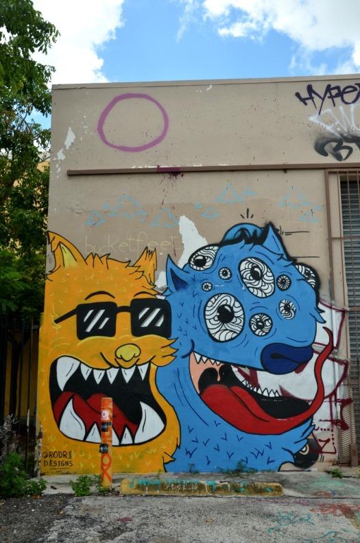 Miami - graffiti monsters