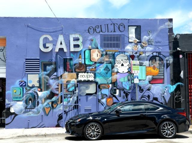 Miami graffiti Oculto