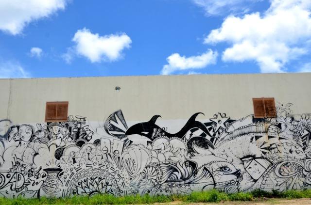 Miami - orca graffiti