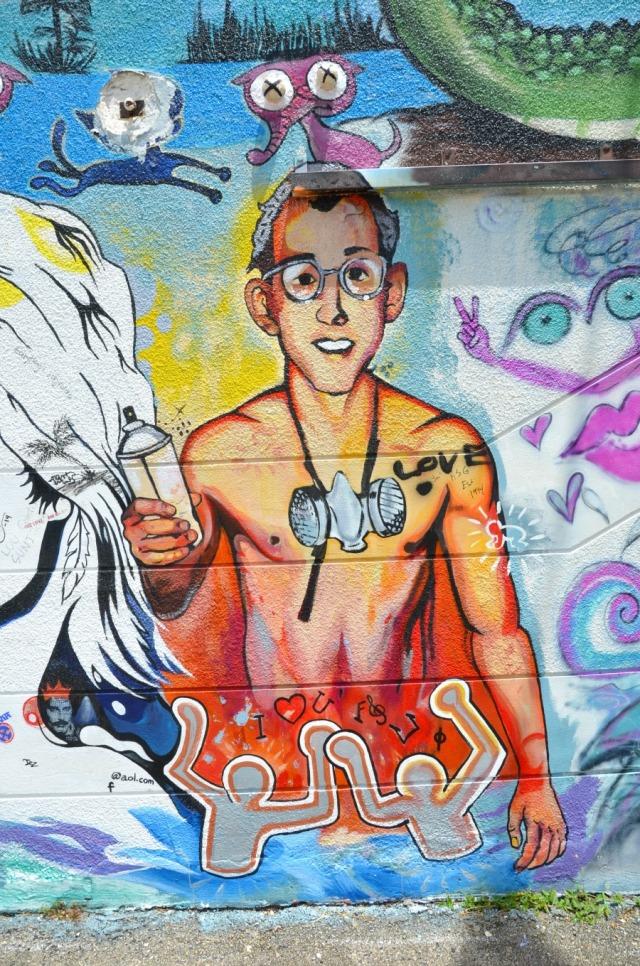 Miami - Haring graffiti