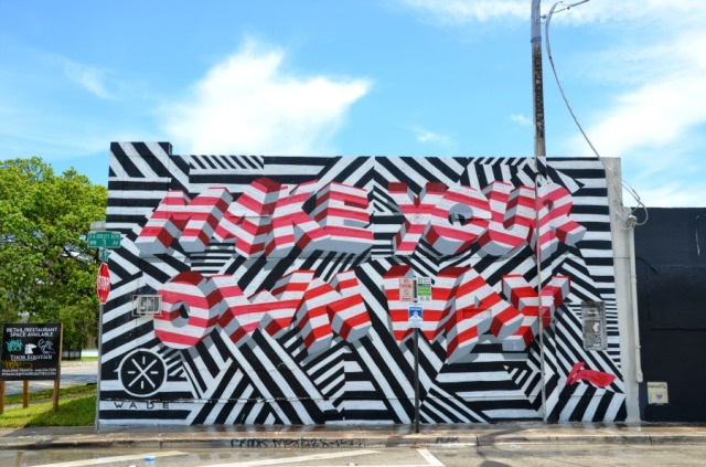 Miami - make graffiti