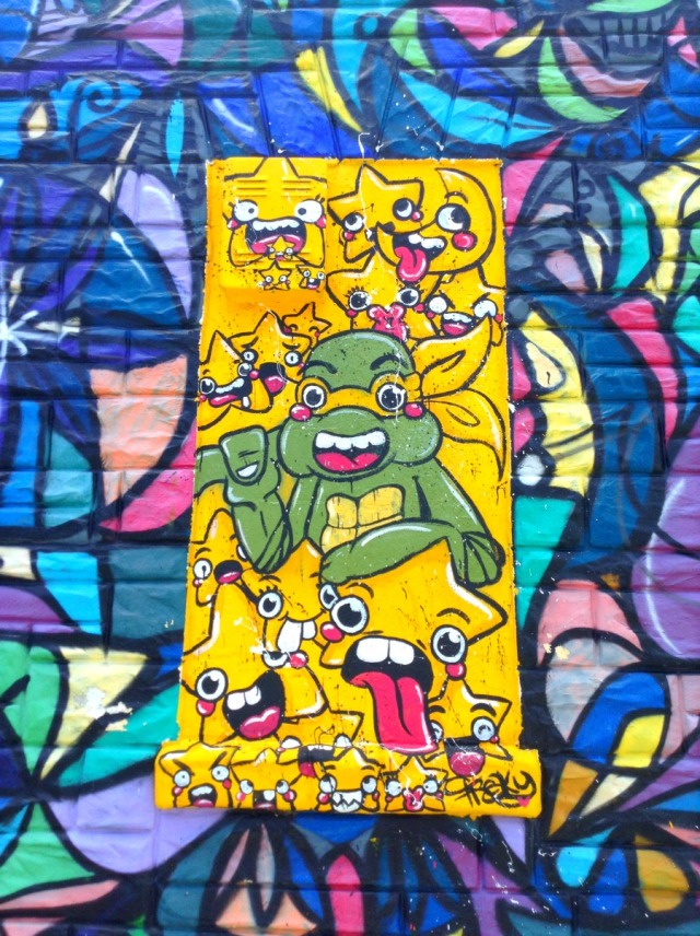 Miami - graff ninja turtle