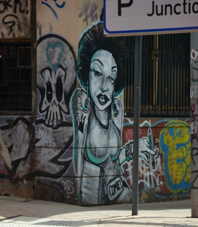 Johannesburg - corner graffiti