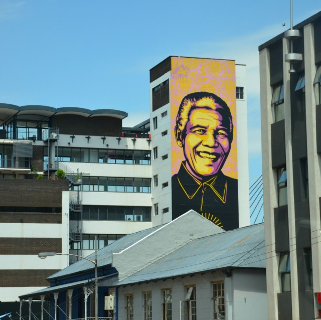 Johannesburg - Mr Mandela graffiti
