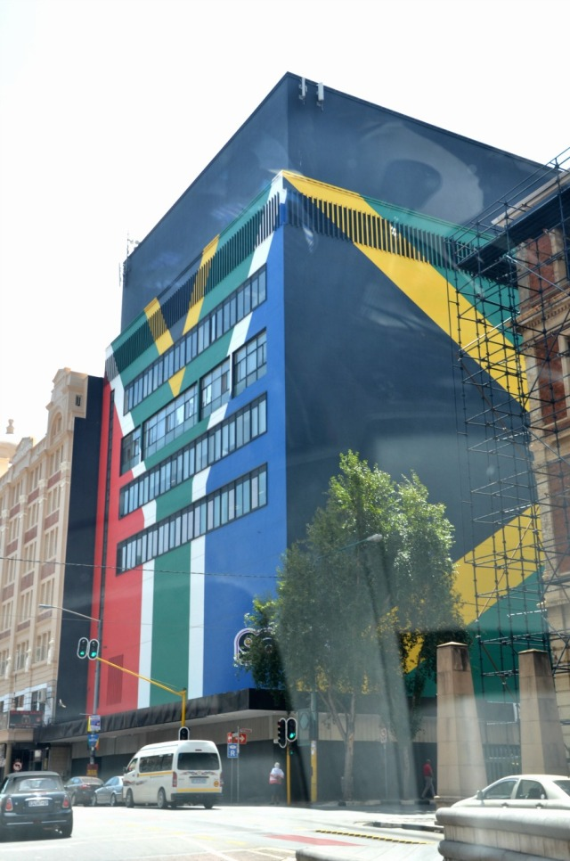 Johannesburg - pride graffiti