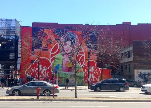 Mtl Chinatown mural