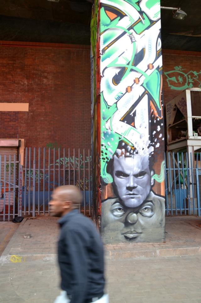 Johannesburg - underpass graffiti