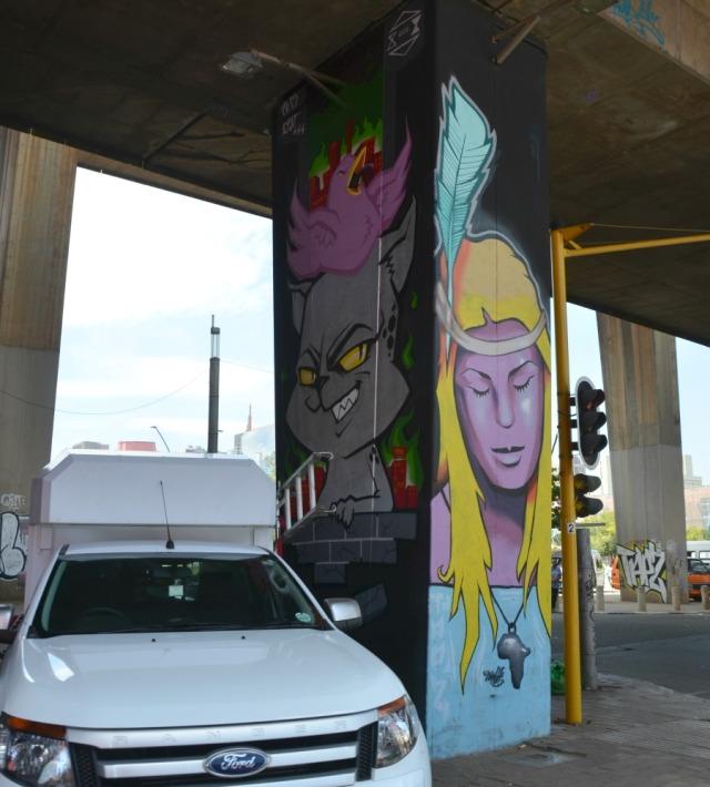 Johannesburg - graff underpass style