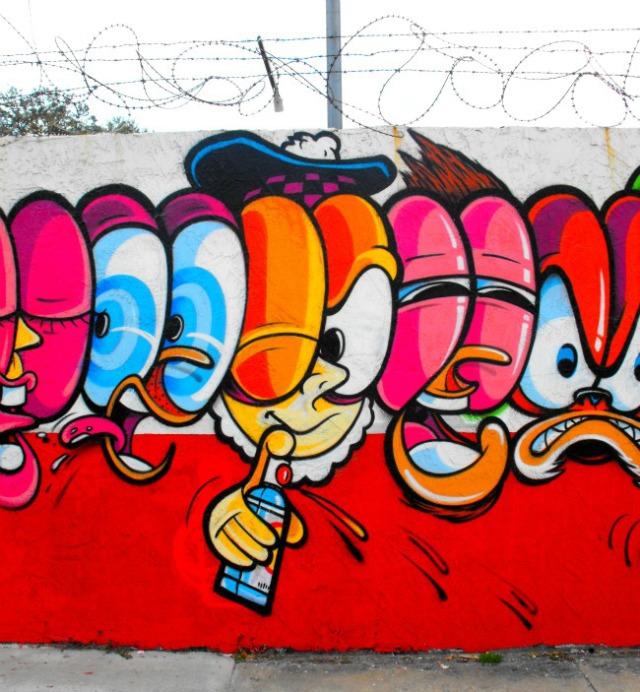 Miami - Wynwood painter
