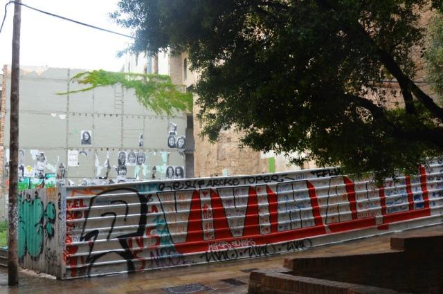 Barcelona letter wall